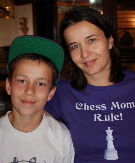 Chess Mom Delia Sabau